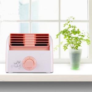 Sin 30w Turbina Hoja Mini Ventilador Escritorio Mute Para