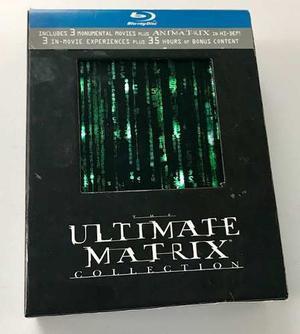 The Ultimate Matrix Colección Blu Ray