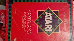 Catalogo, De Atari, Vintage, En Estado Normal