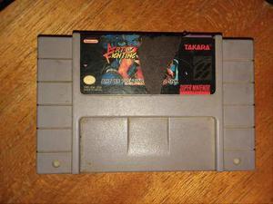 Juego De Super Nintendo Art Of Fighting