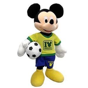 Peluche Mickey Mouse Brasil Mundial cm De Altura