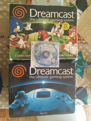Sega Dreamcast Con Caja + Juegos
