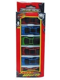 Set De 6 Carros De Juguete Para Niños Juguetes