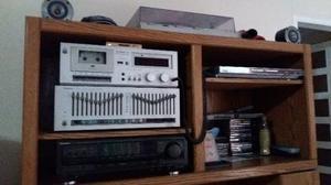 Equipo De Sonido Marca Technics Y Cornetas