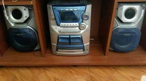 Equipo De Sonido Panasonic 5 Cds
