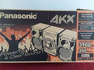 Equipo De Sonido Panasonic Sc-akx18 Nuevo Y Original!!