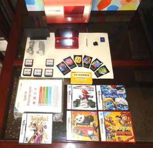Nintendo 3ds + 5 Juegos +accesorios + Adicionales