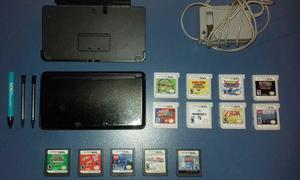 Nintendo 3ds + 7 Juegos 3d + 6 Juegos Ds + Estuche