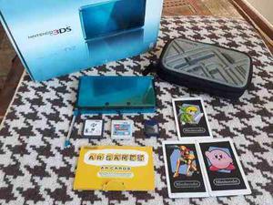 Nintendo 3ds Con Ch1p Caja Juegos Y Mas