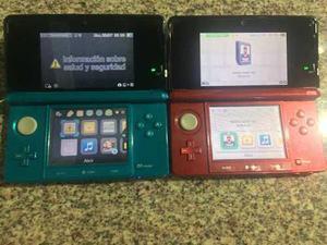 Nintendo 3ds Con Su Caja Original + 2 Juegos Originales¿