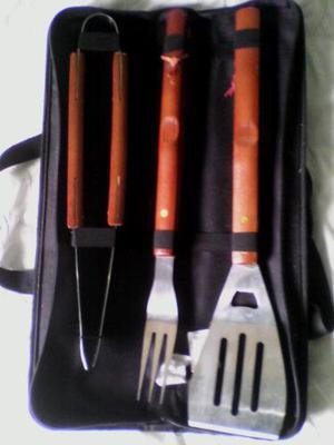 Set De Cuchillos Parrilleros