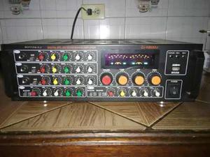 Amplificador Marca Nippon Con Entrada De Pendray