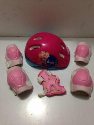 Casco Para Bicicleta O Patineta De Barbie