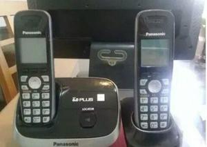 2 Telefono Inalambrico Panasonic 6.0 Plus Modelo Kx-tg6512