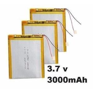 Bateria Pila Para Tablet 7 China 3000mah 3.7v Mayor Y Detal