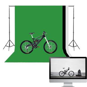 Fondos Para Fotografia. Verde, Blanco Y Negro Como Nuevo!!!