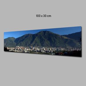 Fotografia Del Ávila Impresa En Banner O Lona 100x30cm