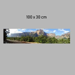 Fotografia Salto Angel Impresa En Banner O Lona 100x30cm
