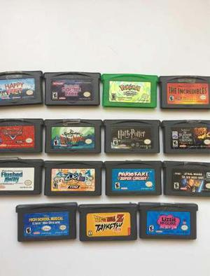 Juegos De Gameboy Advance Originales