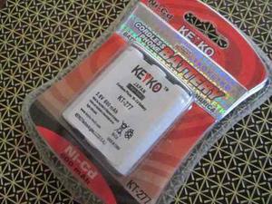 Keyko Kt-277 Batería Recargable Para Teléfono Inalámbrico