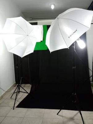Kit De Iluminación Para Fotografía En Estudio Con Lamparas