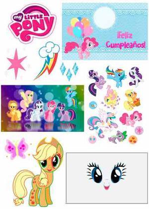 Kit Imprimible My Litle Pony, Unicornio