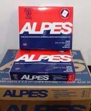 Papel Fotocopia Alpes Oficio