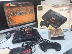 Sega Mega Drive Con Juego