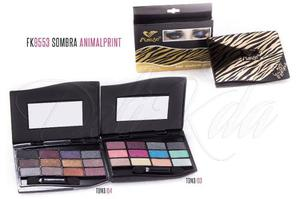Sombras 12 Colores Shadow Marca Amuse!! Fkmayor/detal
