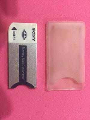 Adaptador De Memoria Sony Duo Adaptador (memory Stick Duo)