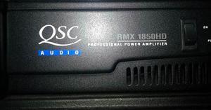 Amplificador Qsc Rmx hd Como Nuevo En Su Caja