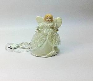 Angel Navidad Iluminacion Arbol O Mesa Usd 5