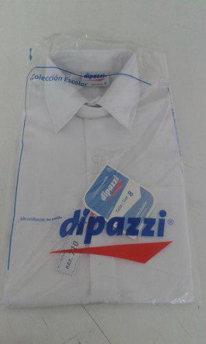 Camisa Cuello Duro Blanca Dipazzi Tallas 4,6,8