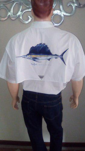 Camisa De Caballero Columbia Ts.