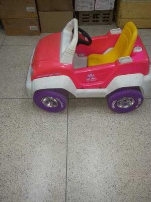 Carro A Bateria Jeep De La Barbie
