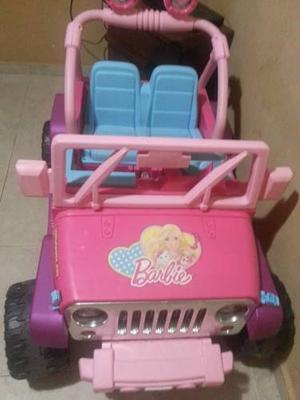 Carro Eléctrico De La Barbie