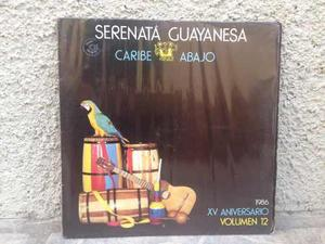 Disco Lp Vinil Acetato Setenta Guayanes. Caribe Abajo