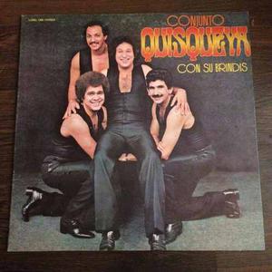 Disco Lp Vinil Conjunto Quisqueya / Con Su Brindis