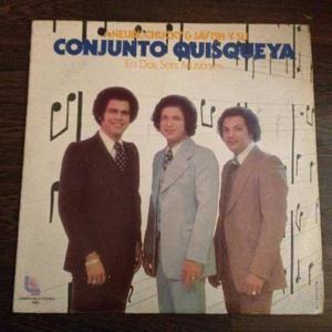 Disco Lp Vinil Conjunto Quisqueya / En Dos Sets Musicales