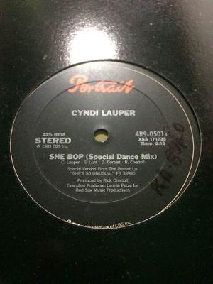 Disco Vinyl Importado: Cyndi Lauper - She Bop - Remix