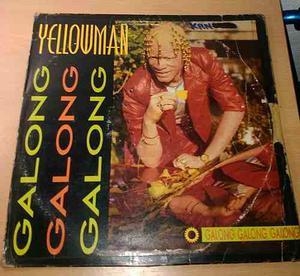 Disco Vinyl Importado: Yellowman - Galong Galong L.p