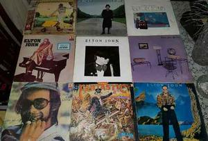 Elton John, Colección Completa, Lps Nacionales E Importados