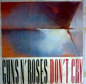 Guns And Roses Don't Cry Disco En Vinil Rock