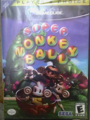 Juego De Gamecube Monkey Ball.