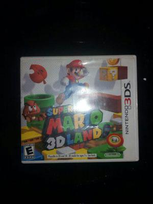 Juego De Nintendo 3ds (super Mario 3d Land) Sin Mucho Uso