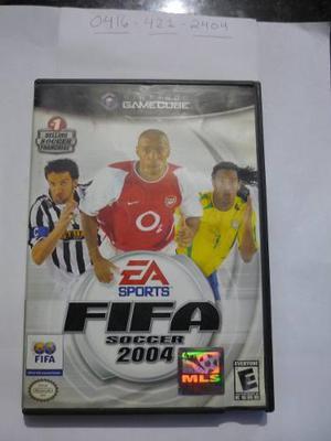 Juego Fifa 2004 Original Gamecube Aproveche