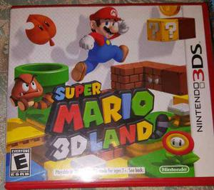 Juego Nintendo 3ds Original Super Mario 3d Land
