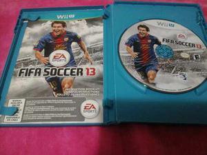 Juego Original Fifa Soccer 13 Para Consolas Nintendo Wii U