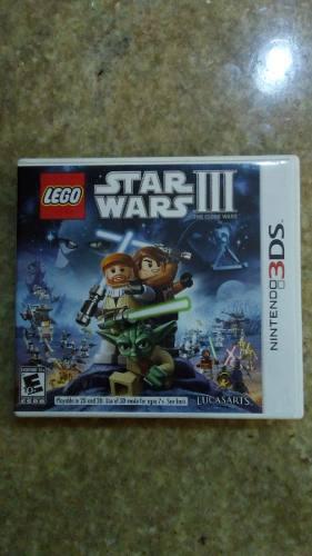 Juego Para Nintendo 3ds Star Wars Iii. Lego