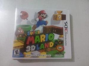 Juego Super Mario 3d Land Nintendo 3ds, 2011 Nuevo